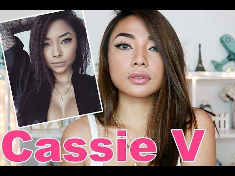 CASSIE V Make Up Tutorial (BABY Girl XoXo)