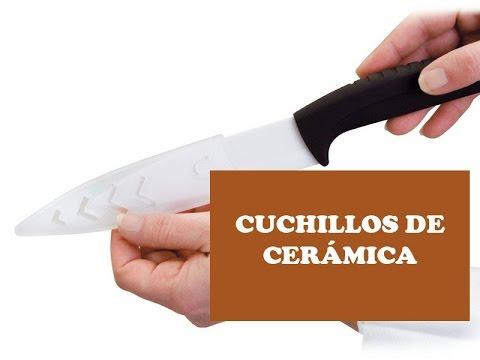 Cuchillos de ceramica - Ventajas e inconvenientes