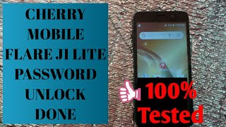 Cherry Mobile Flare J1 Lite | Password Unlock Done | 👍 100% Tested