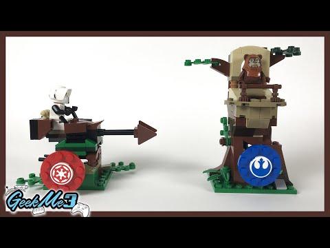 Vidéo LEGO Star Wars 75238 : Action Battle L'assaut d'Endor