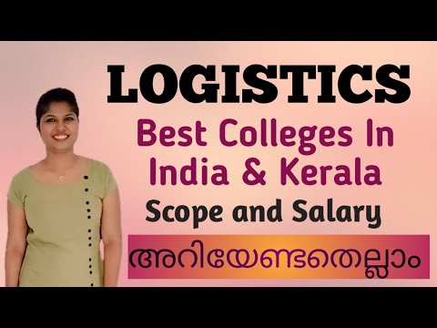 Logistics Job and Scope in Malayalam @LAVENDER MEDIA