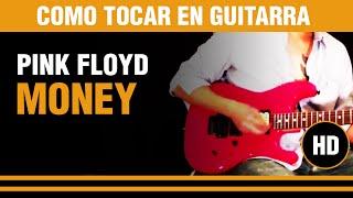 Como tocar Money de Pink Floyd en guitarra, enseñada paso a paso CLASE TUTORIAL