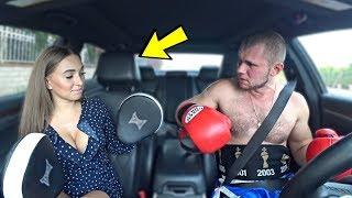 Russian Boxer Goes On A Blind Date With Russian Model!