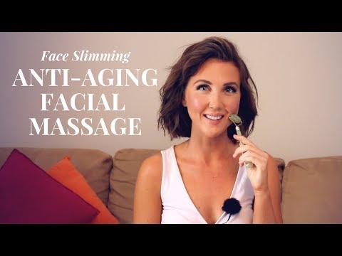 Gua Sha White Quartz Jade Stone Roller - Beauty Massage Tool