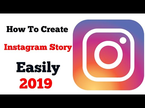 How to create a Instagram Story easily trick 2019