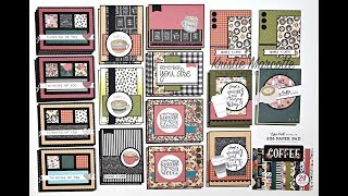 Echo Park Coffee Collection - 33 Cards From One 6x6 Paper Pad