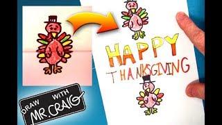 How to Make a Fun Thanksgiving Card