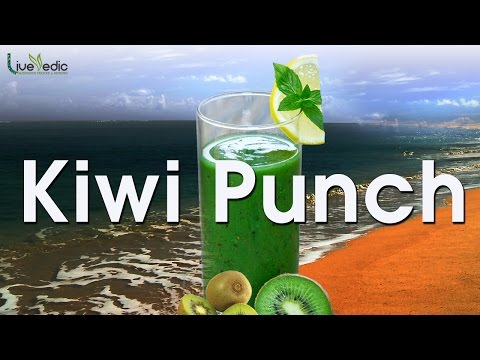 Video Kiwi Punch Recipe I Healthy Summer Cooler Drink