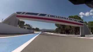 Circuit Castellet 3,8KM chicane 15 16 aout 2015