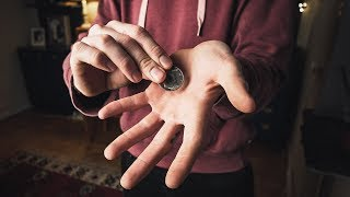Simple Coin Vanish - How to Make a Coin Disappear