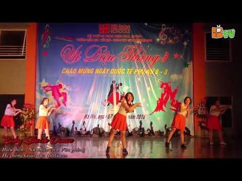 Baby Shark Dance - Nhân Viên Nữ Văn Phòng BillGates Schools ngày 8/3
