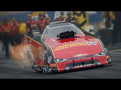Courtney Force runs low in Friday qualifying