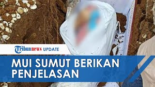 Viral Foto Jenazah Dikubur Masih Pakai Daster di Sumatera Utara, MUI dan Pihak RS Beri Penjelasan