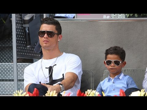 Download Cristiano Ronaldo's Son Meets Messi, Interrupts Interview Dressed As Superman HD Mp4 3GP Video and MP3