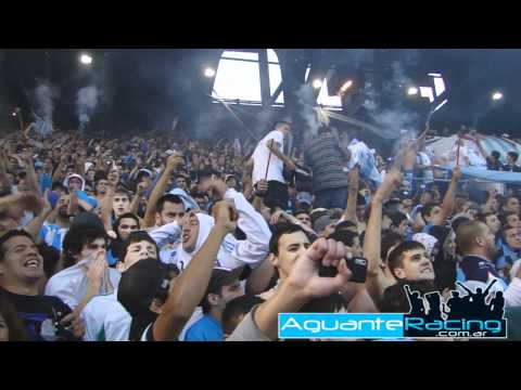 """""""Racing Club - La Guardia Imperial vs Velez"""" Barra: La Guardia Imperial • Club: Racing Club • País: Argentina"""