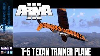 T6-Texan II Trainer Plane - ARMA 3