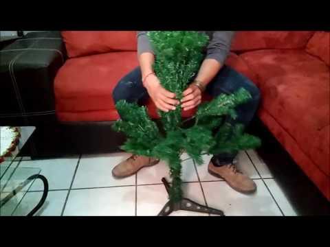 Como poner tu arbol( pino ) de navidad