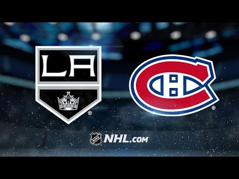 Quick, Kings shut out Canadiens in 4-0 win