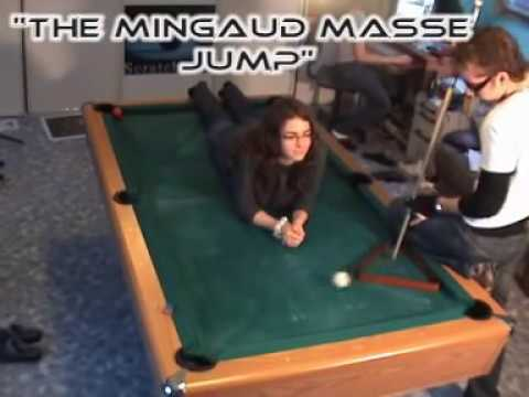 Venoms Pool Trick Shots Masse Attack - Masse pool table