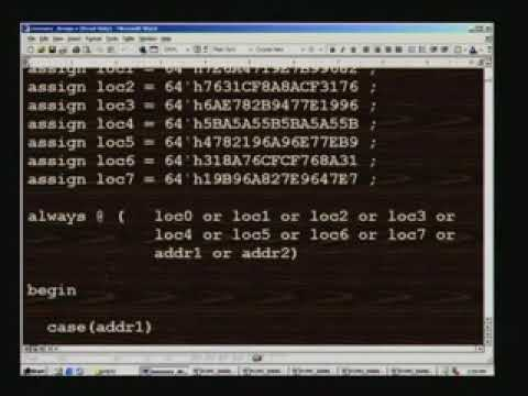 Lecture 27 - Analysis of Waveforms Using Modelsim(Contd) - ClassroomTV