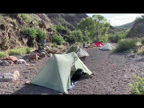 Seep Spring campsite overview