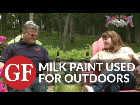 General Finishes Exterior Finishes for Furniture - Milk Paint and Exterior 450