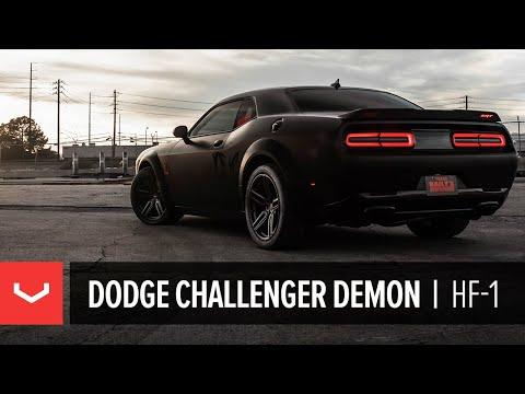 Dodge Demon Challenger   Vossen Hybrid Forged Wheels   HF-1