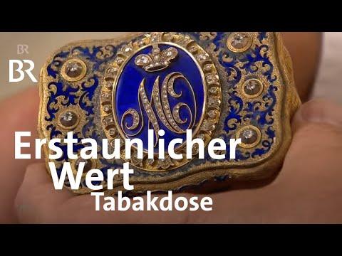 Überraschend wertvoll: Goldene Tabakdose aus der russischen Zarenfamilie | Kunst + Krempel