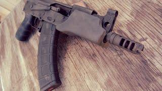 Ronins Grips Orca Handgaurd On Micro Draco AK47