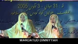 Wardatuddiniah - No.3 Festival Nasyid Kebangsaan 2005 (lirik Terbaik) [2/2]