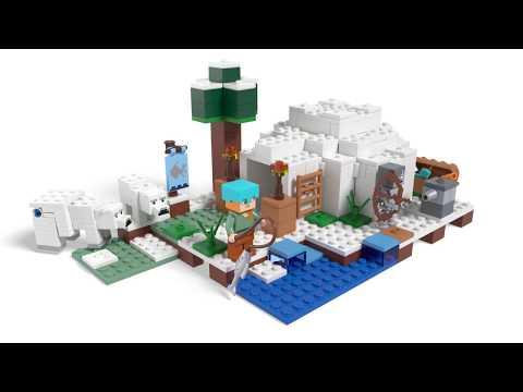 Vidéo LEGO Minecraft 21142 : L'igloo