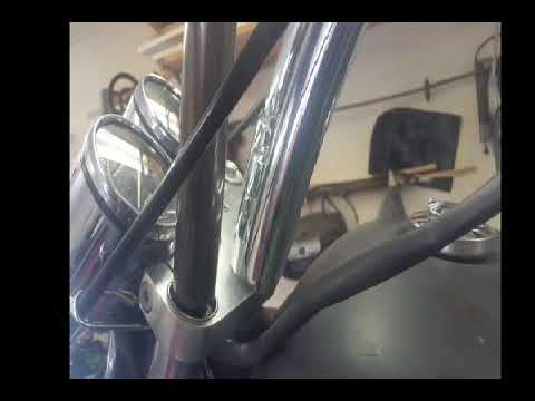 Fork Bushing and Seal replacement on Honda Magna VF750C