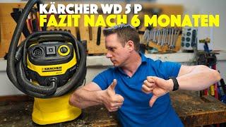 Kärcher Sauger WD 5 P Test und Fazit nach 6 Monaten Nutzung für Hobby/ Werkstatt - deutsch