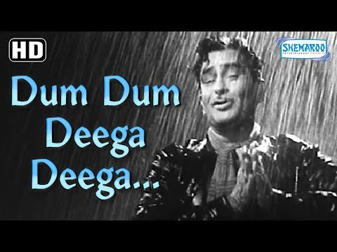 Best Rain Song 'Dum Dum Deega Deega' Raj Kapoor - Chhalia [1960] - Best Hindi Song
