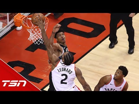Murray and Cabbie on the impact of Kawhi's dunk over Giannis