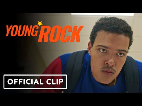 """Young Rock – Official """"Wrestling's Fake"""" Clip (2021) Bradley Constant, Stacey Leilua"""