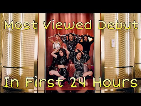MOST VIEWED KPOP GROUPS DEBUT MUSIC VIDEOS IN THE FIRST 24 HOURS
