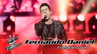 Fernando Daniel - Everything I Do (Bryan Adams) | Gala | The Voice Portugal