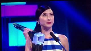 《红星大奖 2015》最喜爱女角色 Star Awards 2015 Favourite Female Character - Jeanette Aw 欧萱 (洪明慧)