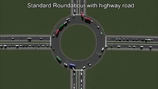 Die besten 100 Videos Verkehrsfluss gemessen an 30 verschiedenen 4-Wege-Kreuzungen