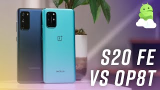 Samsung Galaxy S20 FE vs OnePlus 8T: Crowning the budget king!