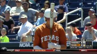 College World Series 2014 - Texas v. Vanderbilt