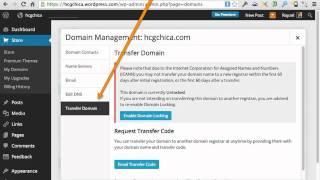 WordPress.com DomainTransfer Tutorial: How to Transfer Your WordPress.com Domain Name
