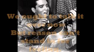 ELVIS PRESLEY -  I'VE LOST YOU ( LYRICS ) VINYL 1974