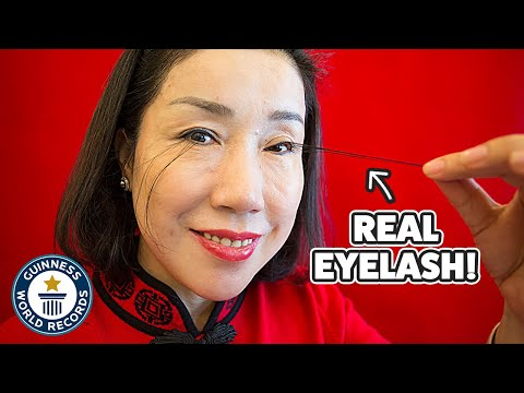 Living with the Longest Eyelashes in the World