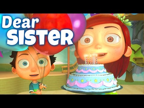Download Happy Birthday Song to Sister HD Mp4 3GP Video and MP3
