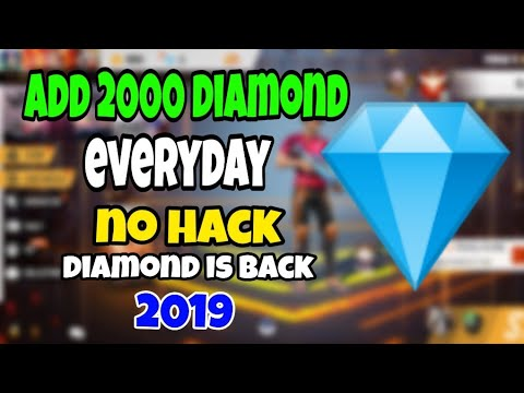FREE FIRE free 2000 Diamond add:💎 NO HACK : no paytm: 101% Working
