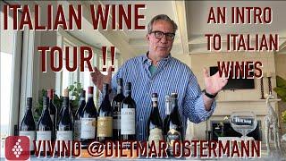 Intro To Italian Wine || Chianti Vs Barolo Tasting! Wine Diaries Of A PwC Partner