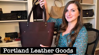 *REVIEW* Classic Tote By Portland Leather Goods!