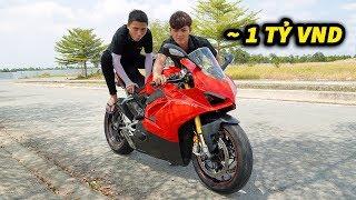 Chạy Xe Tàn Đi Học Bị Bạn Gái Chê, Thanh Niên Mua Luôn Ducati V4S 1 TỶ ĐỒNG
